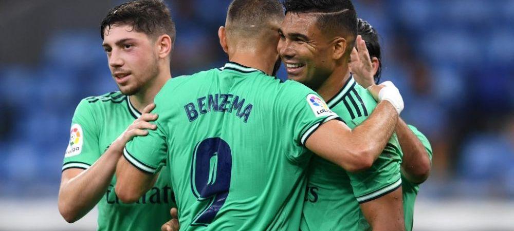 Real Madrid a castigat si e lider in La Liga   Ce s-a intamplat in meciurile de luni! Toate rezultatele din weekend din Spania, Italia si Anglia