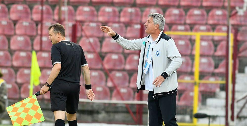 Mai fericit ca niciodata! Cristiano Bergodi, IN GENUNCHI la golul lui Mihaila! Reactia de 5 stele a antrenorului Craiovei