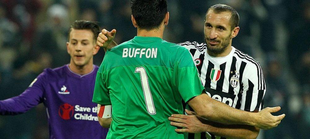 Este oficial: veteranii lui Juventus au semnat! Buffon si Chiellini vor mai juca un sezon in Serie A!