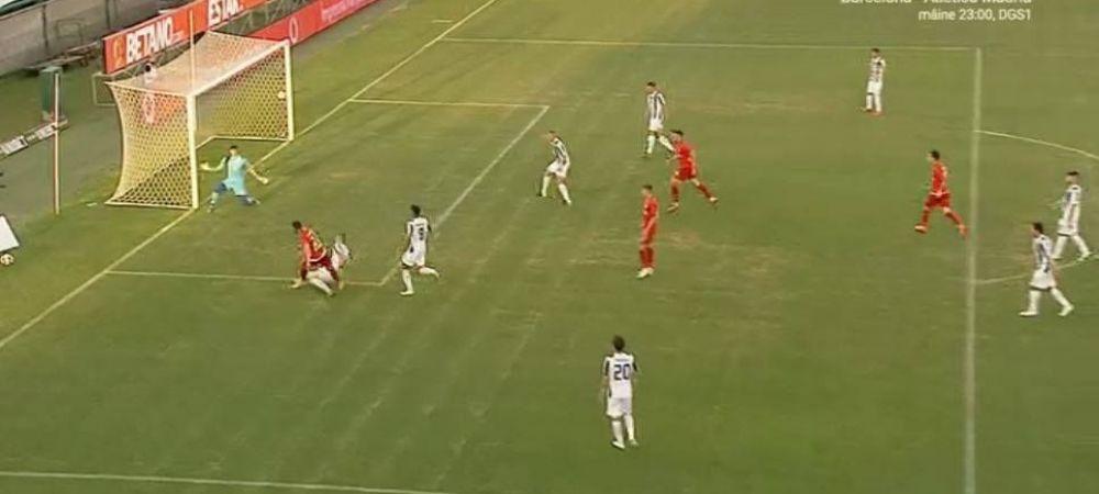 Ovidiu 'Ronaldo' Popescu! :) Fundasul reprofilat al FCSB-ului s-a bucurat ca Ronaldo dupa golul marcat in poarta Astrei   FOTO