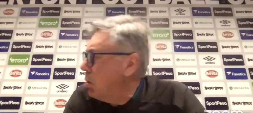 """""""Cine e? De cine zice?"""" Ancelotti HABAR n-avea cine e jucatorul pe care tocmai il daduse afara! Moment incredibil in fata jurnalistilor"""