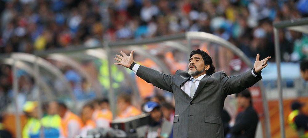 Maradona poate ajunge antrenorul nationalei Spaniei! La asta nu se astepta nimeni! Planul a fost anuntat public