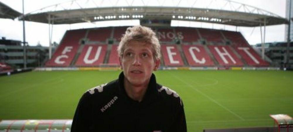 Mesaj EMOTIONANT de la Mihai Nesu pentru clubul la care a jucat ultima data! Care a fost reactia oficialilor lui Utrecht