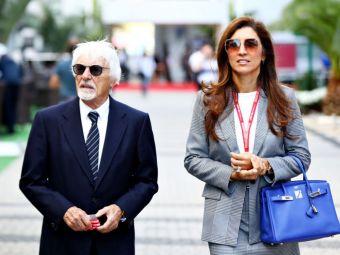 IMPERIUL e pe maini bune! La 89 de ani, STRABUNICUL Bernie Ecclestone a devenit pentru prima data TATA de baiat