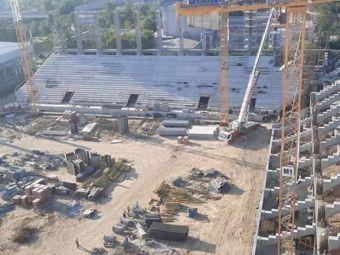 Stadionul Giulesti prinde contur! GALERIE FOTO de ultima ora cu noua arena a rapidistilor: care este stadiul lucrarilor