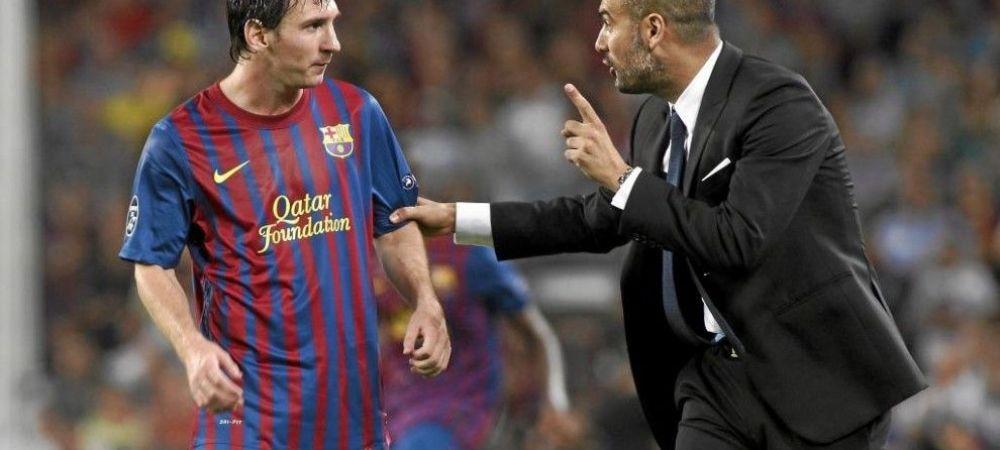 Messi la Manchester City? Reactia geniala a lui Guardiola