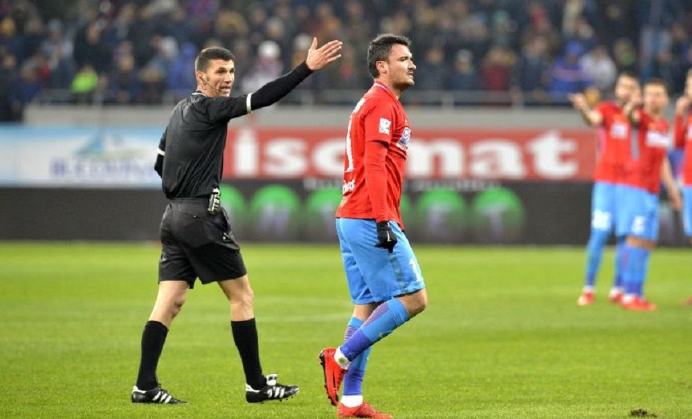 Marcel Birsan arbitreaza derby-ul etapei: Universitatea Craiova - FCSB! Cum s-au incheiat celelalte dueluri directe in care a fost la centru