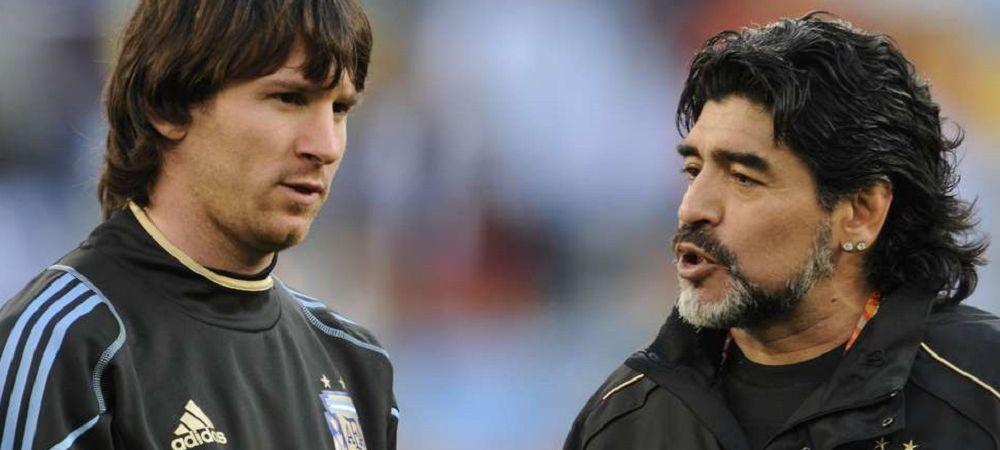 """""""Maradona este pres de sters pe picioare!"""" O legenda a fotbalului paraguayan il desfiinteaza pe 'El Pibe de Oro'! Ce spune despre comparatia cu Messi"""