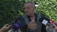 """Cine miroase a bautura, tu?!"" :)) Gigi Becali a oprit interviul! Moment GENIAL: ce i-a zis unui reporter"