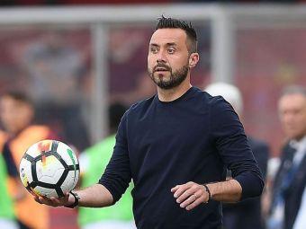 """Roberto De Zerbi pe val! Laudat si de Pep Guardiola, fostul mijlocas de la CFR face SENZATIE in Serie A: """"Adoarme cu gandul la tactici!"""""""