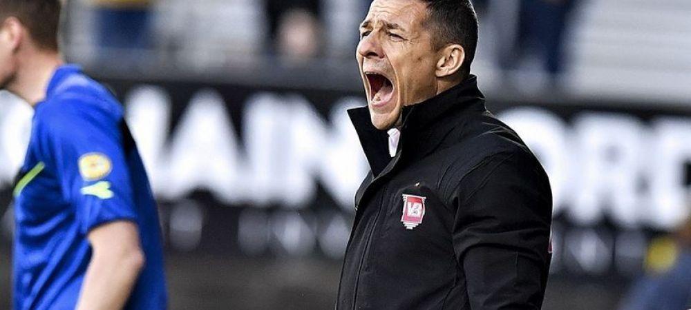 """Prima reactie a lui Galca dupa ce a promovat in prima liga din Danemarca! """"E o mare victorie!"""" VIDEO cu bucuria din vestiar a fotbalistilor de la Vejle"""