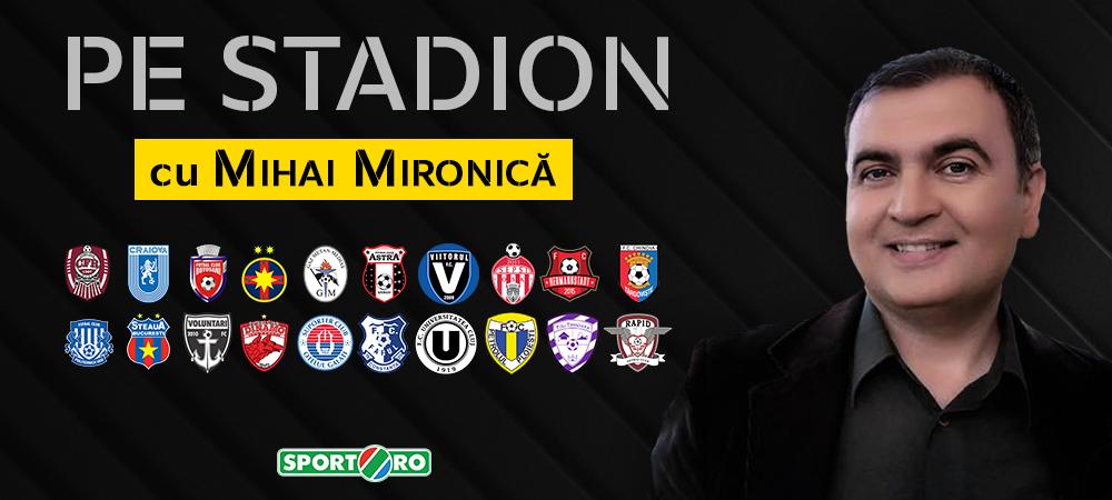 """""""Cel mai infricosat comentariu de meci!"""" Mihai Mironica despre o intamplare complet necunoscuta: """"M-au sunat suporterii Stelei. Am strecurat niste injuraturi de revolta"""""""