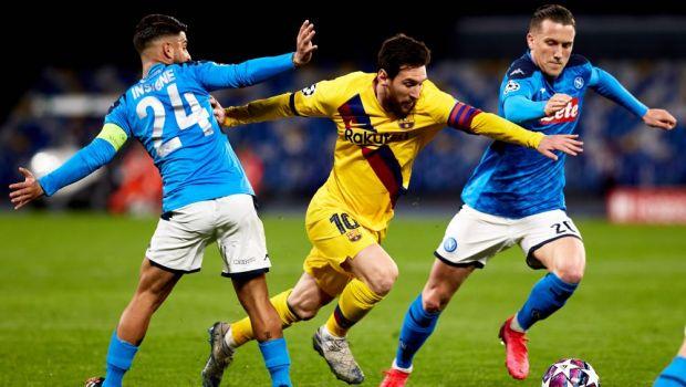 """Un fost mare jucator al Barcelonei, ingrijorat inaintea meciului din Champions League: """"Poate fi eliminata de Napoli"""""""