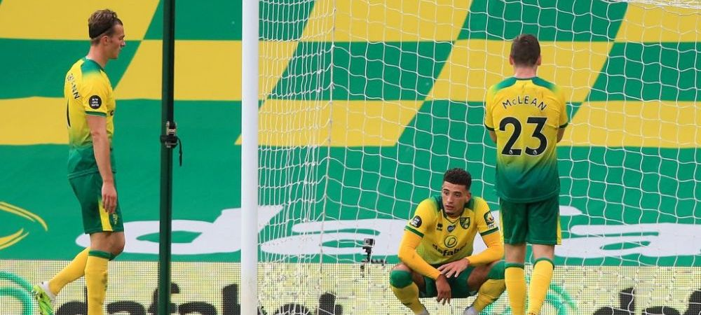 VIDEO | Gafa URIASA in Premier League! Cum a putut un jucator sa-si faca KO portarul dupa ce echipa lor a ramas in 9!