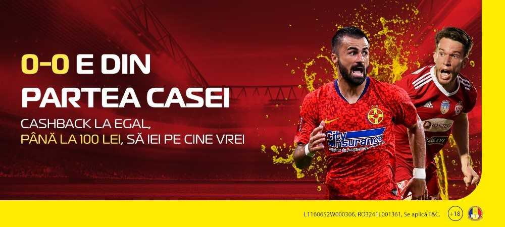 (P) Pariu din partea Casei! Promoție de 100 de lei la finala Cupei României, ca să joci pe cine vrei!