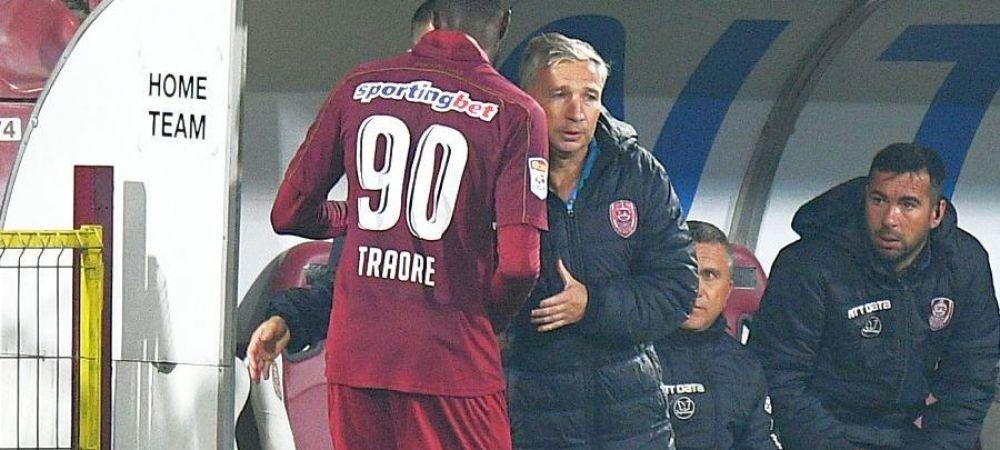 Dan Petrescu, depistat pozitiv cu CORONAVIRUS! Lacina Traore, al cincilea fotbalist de la CFR Cluj care este infectat