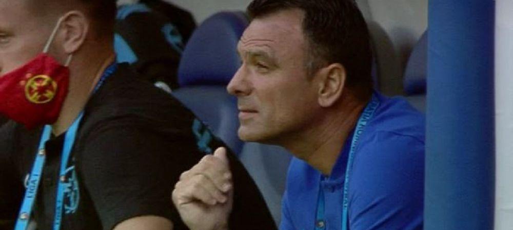 FOTO | Nici nu zici ca joaca FINALA! Cum a reactionat Toni Petrea inainte de startul meciului DECISIV din Cupa Romaniei