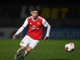 Vesti URIASE de la Londra! Catalin Cirjan a facut SENZATIE dupa doar un an la echipa U18 a lui Arsenal si a fost PROMOVAT la U23