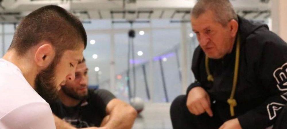 """Khabib Nurmagomedov rupe tacerea! Mesajul CUTREMURATOR al starului UFC dupa ce tatal sau a murit din cauza CORONAVIRUSULUI: """"Sper ca ai fost multumit de mine!"""""""