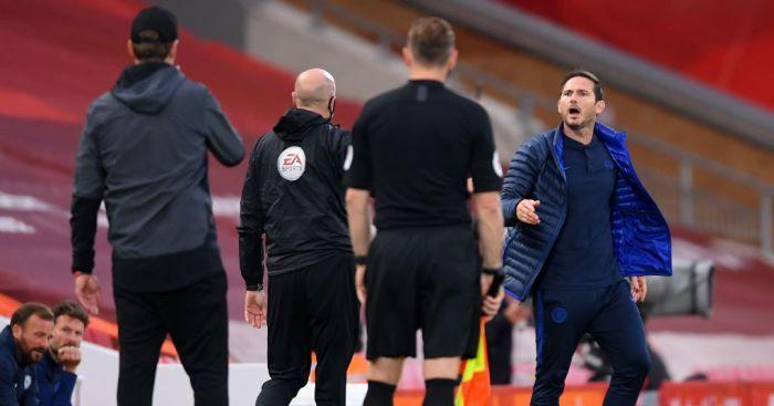 """VIDEO   Sarbatoare cu scandal! Banca lui Liverpool, conflict DUR cu Frank Lampard chiar in timpul meciului:""""Sa lase arogantele!"""""""