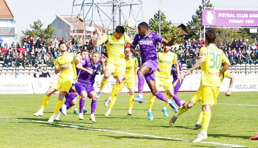 FC Arges - CS Mioveni, LIVE SCORE de la ora 19:30 | Continua lupta pentru promovare! Pitestenii pot urca pe locul 2 cu doua etape inainte de final!