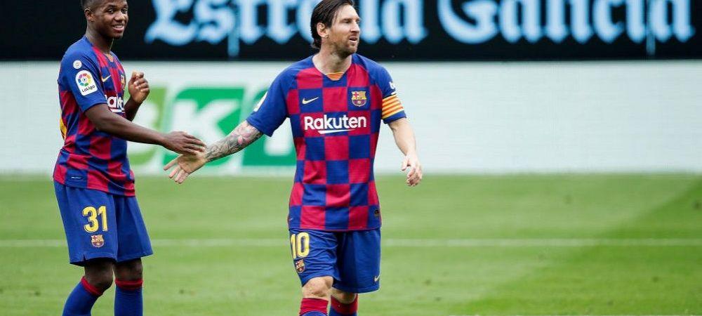 Barcelona i-a pregatit o clauza GIGANTICA de reziliere lui Ansu Fati! 'Wonderkid', aproape de semnarea primului contract in fotbalul mare!