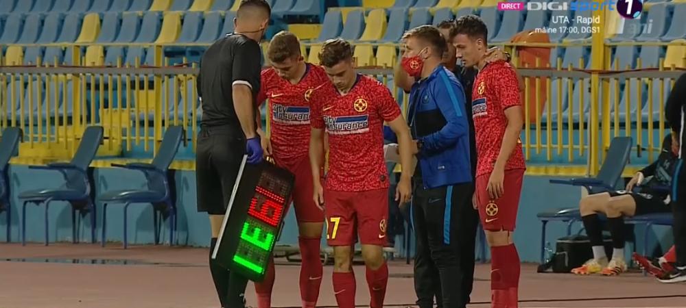 Becali si-a vazut visul cu ochii: 3 schimbari la pauza! Pandele si Istrate au debutat in Liga 1! FCSB ajunge la 43 de jucatori folositi in actualul sezon