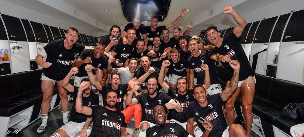 VIDEO | Ronaldo, DEZLANTUIT la petrecerea din vestiar! Recordurile superstarului portughez in sezonul in care Juventus a scris istorie!