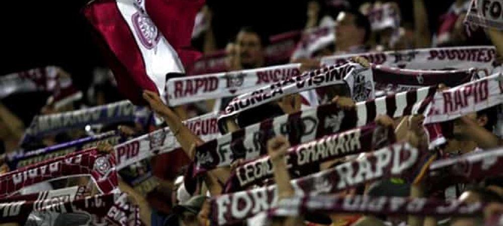 """Suporterii Rapidului se pregatesc pentru derby! """"Ii iubim pe jucatori si cand ne supara si vrem sa ne auda!"""" Ce planuri au pentru meciul decisiv cu Turris!"""