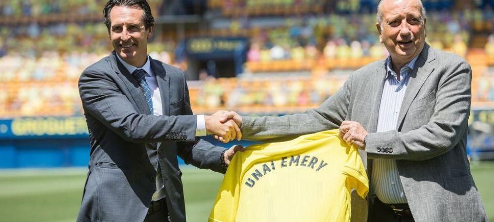 """Uitati-va la el..."" Unai Emery prins in 'OFFSIDE' in timpul prezentarii la Villareal! Ce detaliu au observat fanii"
