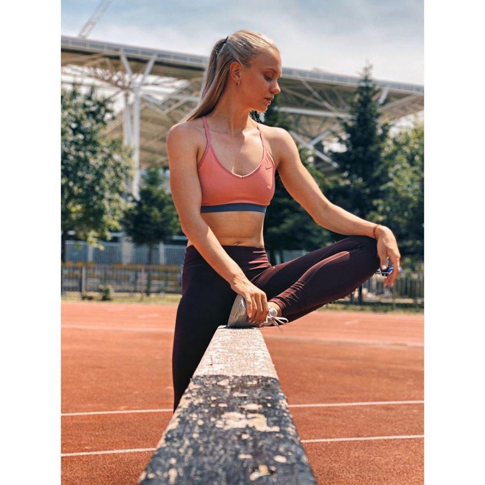 Cea mai rapida atleta a Romaniei este si cea mai sexy!