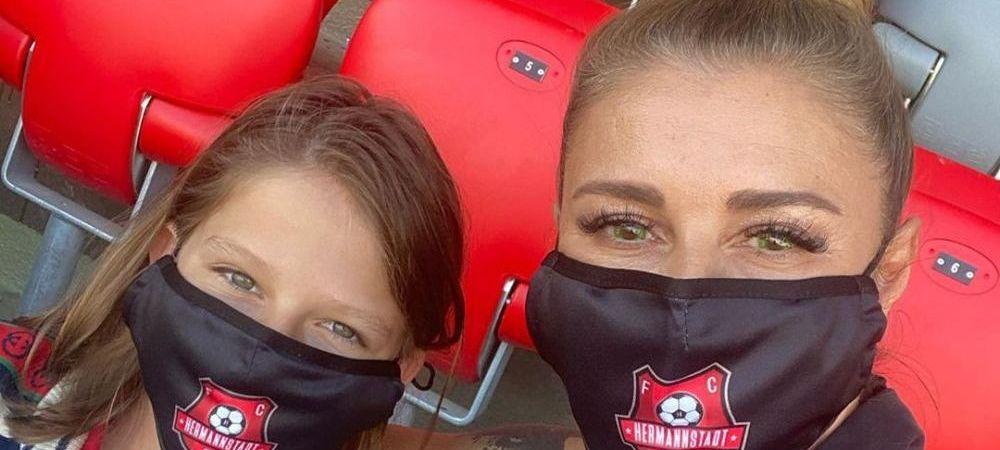 Victorie URIASA sub ochii PATROANEI! Anamaria Prodan, selfie in tribunele arenei din Sibiu! Hermannstadt e in mare forma
