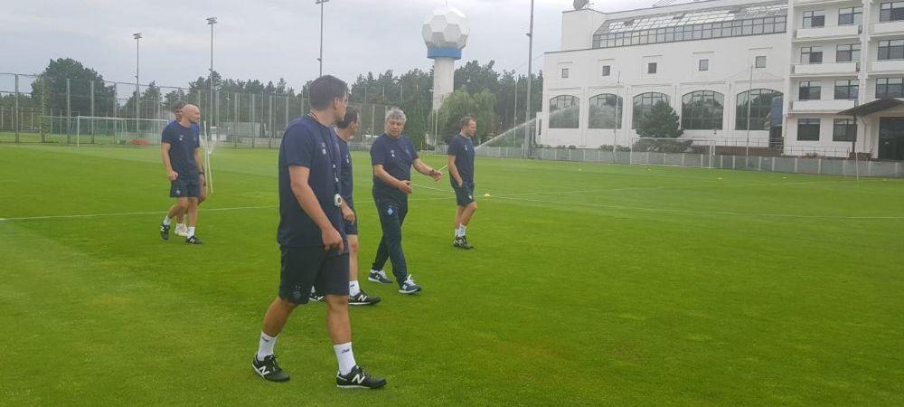 Primele IMAGINI cu Mircea Lucescu la antrenamentele lui Dinamo Kiev! Cum au reactionat jucatorii