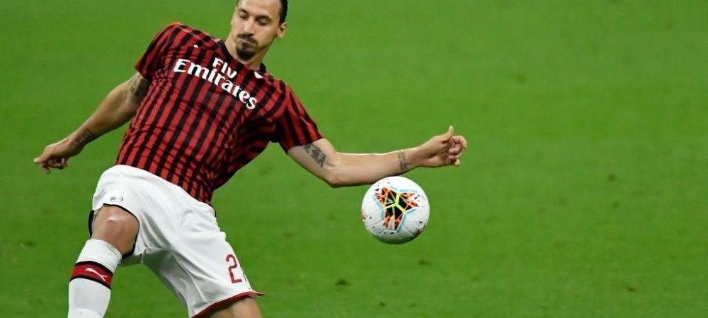 Zlatan Ibrahimovic a semnat! Cine l-a convins sa ramana la AC Milan si cat va castiga suedezul in sezonul viitor!