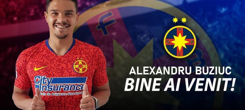 OFICIAL! Alexandru Buziuc a semnat! Transfer de ULTIMA ORA reusit de FCSB! Adio Adrian Petre?