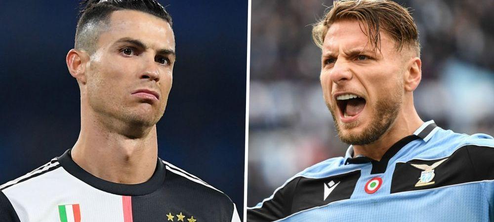 Cristiano Ronaldo, OUT din lotul lui Juventus pentru ultima etapa din Serie A! Immobile castiga OFICIAL Gheata de Aur