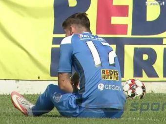 Motiv de ingrijorare pentru Gigi Becali! Fundasul dorit la FCSB s-a accidentat in meciul cu FC Hermannstadt!
