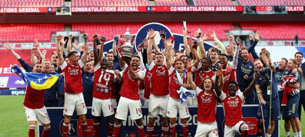 Arsenal 2-1 Chelsea   Victorie URIASA pentru Arsenal in finala Cupei Angliei! 'Tunarii' detin recordul de trofee