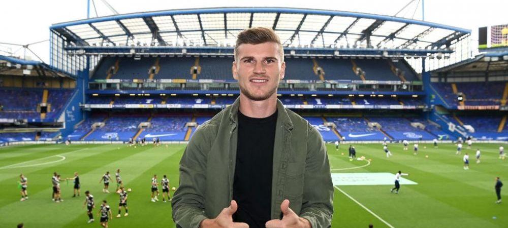 """Fotbalist, caut zbor spre Germania!"" Timo Werner, tinta glumelor dupa finala dintre Arsenal si Chelsea! Cum a fost vazut in tribune"