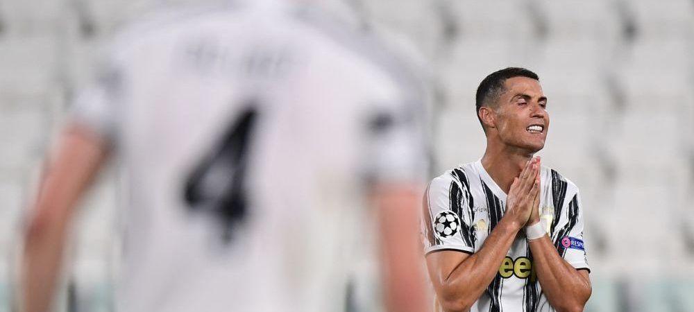 LACRIMI pentru Ronaldo! Cristiano, a doua oara AFARA din Champions League cu Juventus! COSMAR dupa un meci de VIS, cu doua goluri marcate