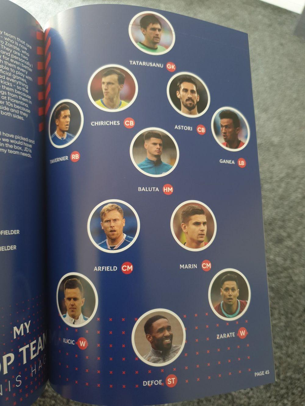 Ianis Hagi si-a ales 11-le IDEAL daca ar fi antrenor! Alegeri SURPRIZA in echipa DE START: nu s-a trecut pe foaie! Ce romani vrea alaturi de el