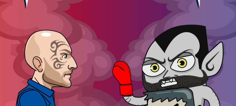 (P) Vlad vs. Catalin Bordea - cel mare tare show de stand-up comedy