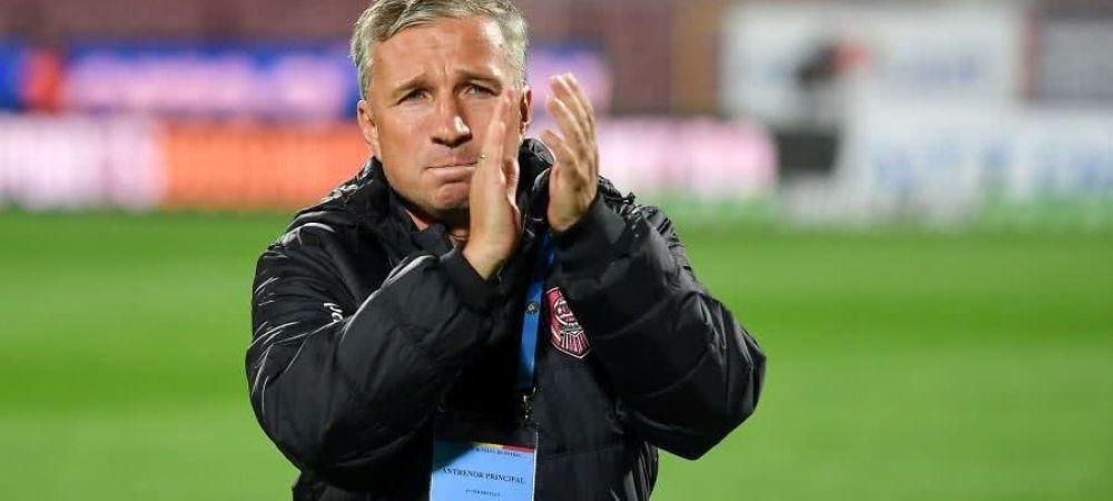 Dan Petrescu si-a gasit ATACANT! CFR Cluj transfera de la o echipa cu care s-a duelat in playoff-ul Ligii 1: 'Sunt in negocieri avansate'