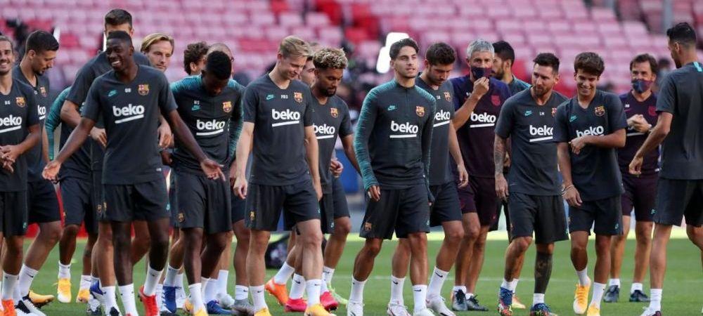 Veste URIASA pentru Barcelona chiar inainte de 'FINALA' cu Bayern! S-a recuperat si e gata sa RUPA PLASA lui Neuer