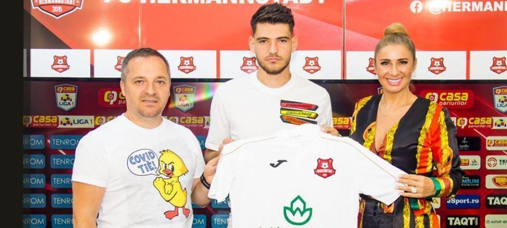 Anamaria Prodan a dat primul tun pe piata transferurilor! Hermannstadt a obtinut semnatura unui jucator care a trecut prin curtea lui Gigi Becali