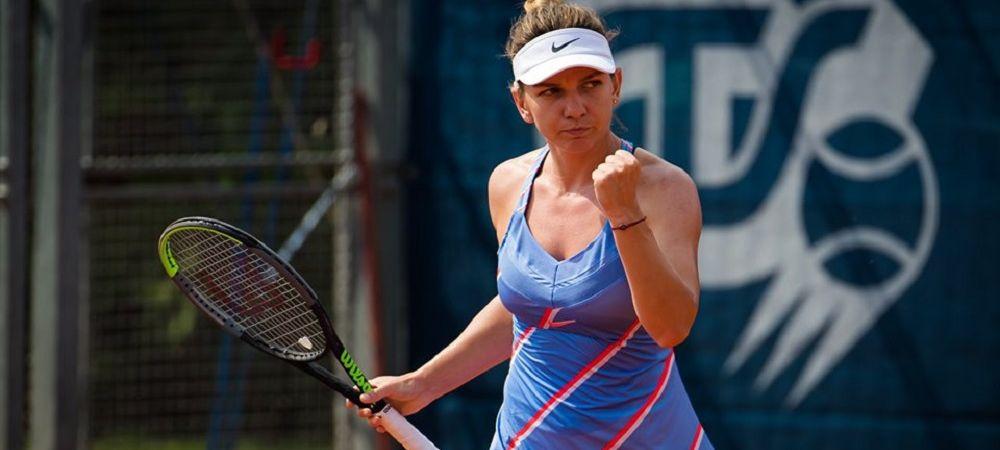 Simona Halep - Irina Begu 7-6, 6-3   Simona s-a calificat in finala primului sau turneu oficial post-pandemie!