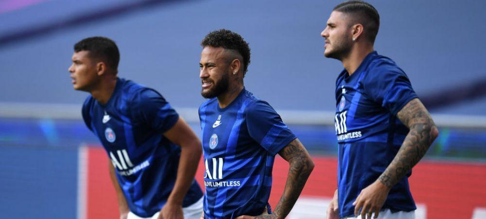 Sa-i sara inima, nu alta! :) Neymar, victima coechipierilor in Lisabona! Cum l-au speriat fotbalistii lui PSG