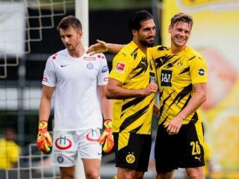 CRIMA in amical: i-au facut una cu pamantul! Dortmund, replica incredibila dupa masacrul din Bayern-Barcelona! Cu cat a putut sa bata in amicalul cu Austria Viena