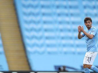 Manchester City i-a pregatit un omagiu special lui David Silva dupa cei 10 ani petrecuti pe Etihad! Mijlocasul, aproape de un transfer in Serie A!