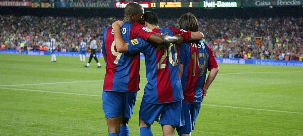"""""""Daca decide sa plece, trebuie sa gasim un alt nume pentru Barcelona!"""" Reactie emotionanta a lui Eto'o la zvonurile plecarii lui Messi de pe Camp Nou!"""